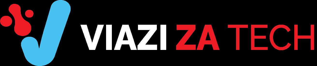 viaziza logo horizontal white