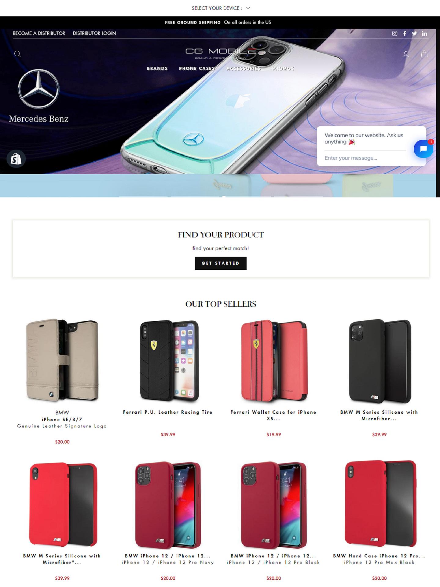CG Mobile (Shopify)